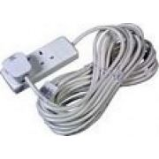 13 Amp 2 Gang Extension Socket C/W 5M Lead
