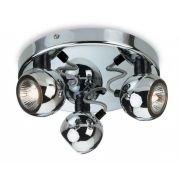 Firstlight Magnetic Flush Ceiling Spotlight Chrome 3352CH