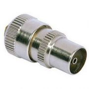 Male Co-Axial Plug Aluminum