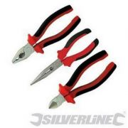 Silverline Vde Combination Plier Set