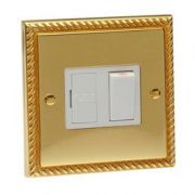 Heritage Brass Georgian Brass Switched Spur Unit