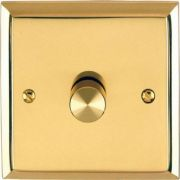 Marcus Dimmer Knob Polished Brass K563.01