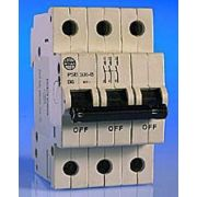 Wylex 50A 3 Phase MCB D Type