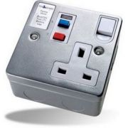Timeguard RCD Single Metal Socket