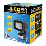 10w LED COB FLOOD LIGHT , COOL WHITE, BLACK BODY, IP65
