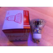 Philips 240V MAINS VOLTAGE HALOGEN 50W GU10 LAMP BULB x24 PIECES SAINSBURY'S BASIC RANGE