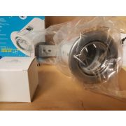 Aurora MR16 Adjustable Fire Rated Downlight - Satin Silver, A2-DLL952SS