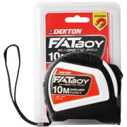 DEKTON FATBOY MAGNET TAPE MEASURE 10M X 25MM, DT55180