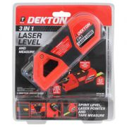 Dekton 3 In 1 Laser Level With Measure, DT55190