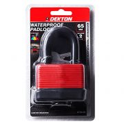 DEKTON 65MM XL WATERPROOF PADLOCK, DT70119