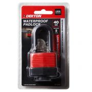 DEKTON 40MM LONG SHACKLE WATERPROOF PADLOCK, DT70162