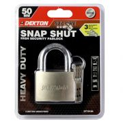 DEKTON 50MM SATIN PADLOCK WITH 3 SECURITY KEY, DT70184