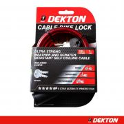 DEKTON 12MM X 1M BIKE LOCK, DT70335