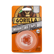 Gorilla Mounting Tape – Crystal Clear