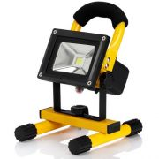 Lighthouse 10 Watt Outdoor LED Worklight Cordless Rechargeable Light Lamp