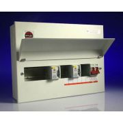 WYLEX METAL AMENDMENT 3 CONSUMER UNIT 10 WAY 17TH EDITION HIGH INTEGRITY