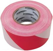 Ultratape BARRIERTP Professional Red/White Barrier Tape (70mm x 500m)