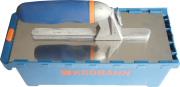 Krobahn KB-TSYS0004 Quick Switch Trowel System 5 Piece Set Square Notch, Handle and Box