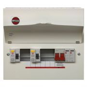 Wylex High Integrity Consumer Unit Type 2 SPD Flexible Main Switch Board - 5, 8 and 13 Way
