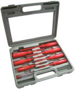 NEW 8 PIECE ELECTRICIAN'S SCREWDRIVER SET-BRANDED